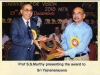 model-aluni-award-received-from-prof-s-s-murthy-director-of-nitk